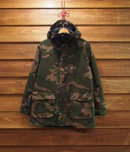 HOODED FIELD JACKET / RIPSTOP CAMO