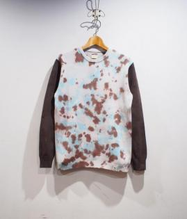 TIE-DYE KNIT SHIRTS / TWO TONE