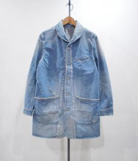 MILITARY DENIM COAT