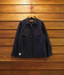 CPO JACKET / NYLON-COTTON [BK]