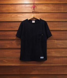 BOAT NECK PILE TEE
