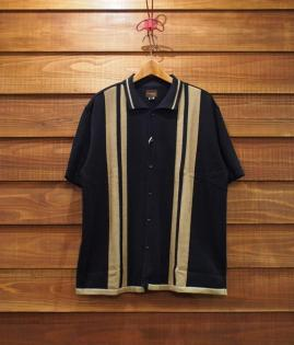 OPEN KNIT POLO