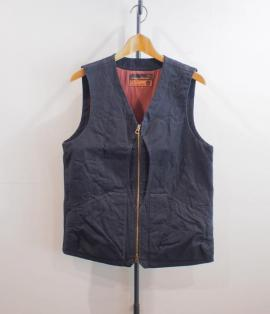 QUILTING SHELL VEST <OX>