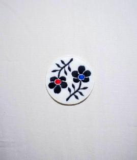 CUSTOM WAPPEN -FLOWER-