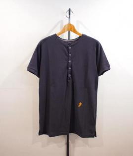 HENLY NECK POLO SHIRTS -C/N KANOKO-