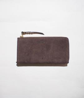 SUEDE ZIP CASE / LONG
