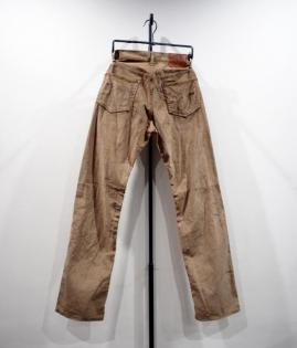 LOW STRAIGHT CORDUROY PANTS