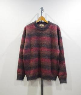 3GRADATION MOHAIR KNIT
