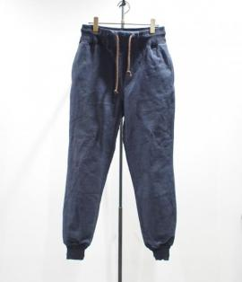 FLEECE RIB PANTS