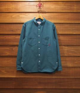 ROUND COLLAR SHIRTS / MILITARY FLANNEL