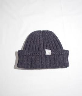 RIB KNIT CAP -LOW GAUGE-