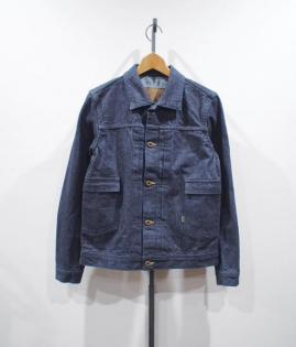 DENIM JUMPER / KIBATA NAVY-ST