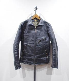 CENTER ZIP QUILTING LINER JKT / HORSE HIDE