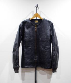 FREE NECK JKT / HORSE HIDE