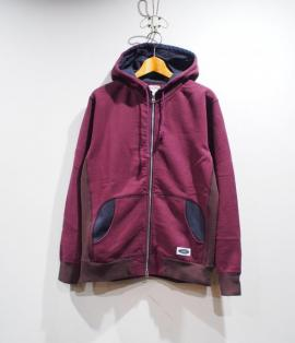 ZIP-UP SWEAT PARKA