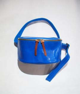 LEATHER DAILY BAG -KIP-