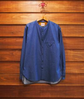 NO COLLAR SHIRTS / LIGHT-OZ DENIM