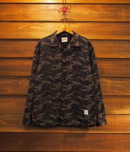 CURVE POCKET SHIRTS / CAMO