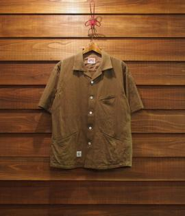 ▶︎ CURVE POCKET SHIRTS / LINEN-COTTON