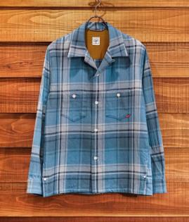 OPEN COLLAR SHIRTS / COTTON-CHECK