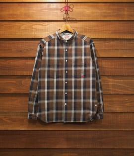 ▶︎ ROUND COLLAR SHIRTS / HEAVY NEL CHECK
